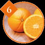 オレンジ果皮