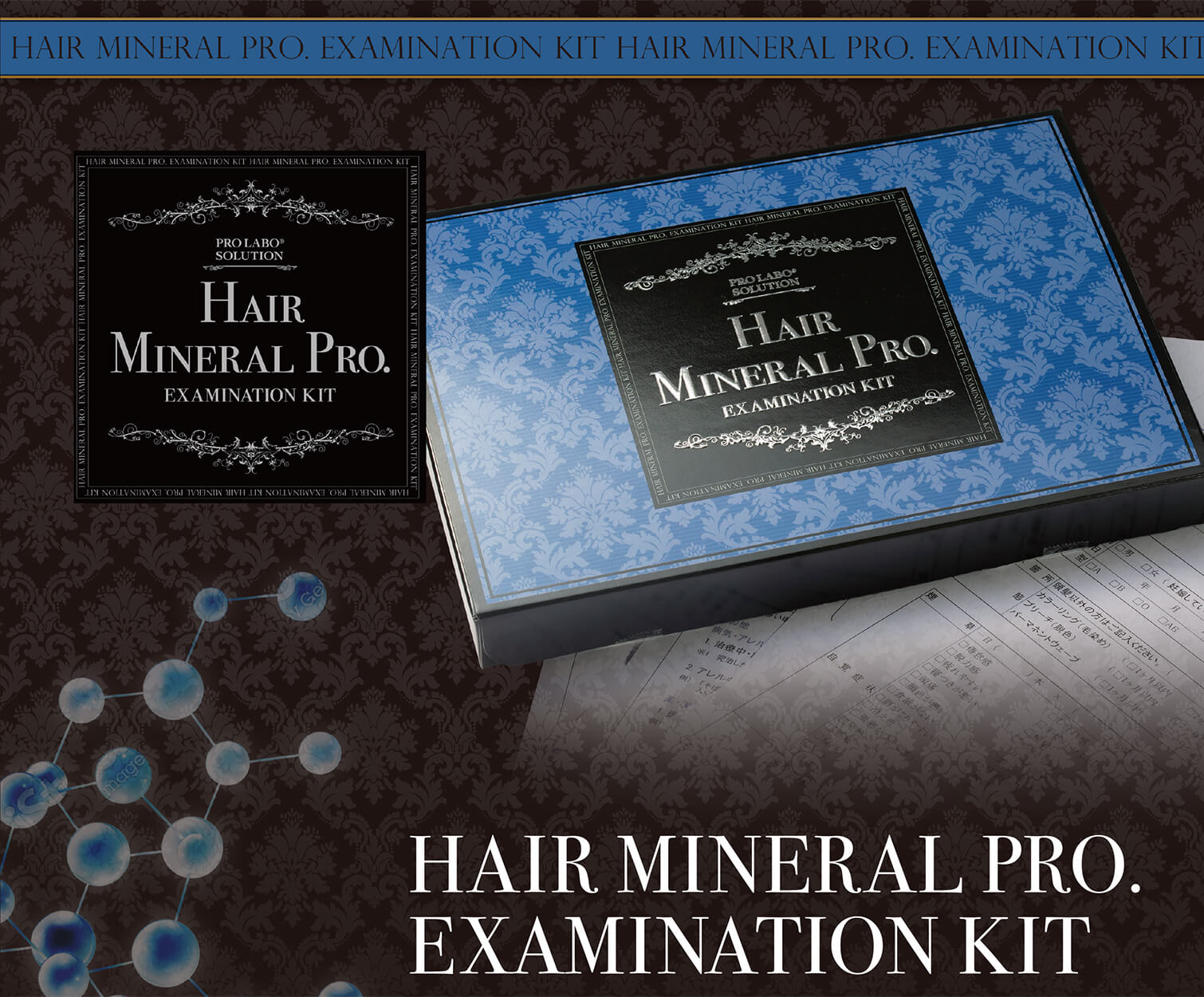 HAIR MINERAL PRO .EXAMINATION KIT